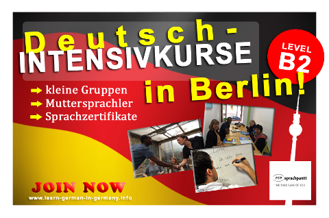 B2 Deutsch-Intensivkurse Berlin